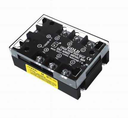 GOLD Solid State Röle Trifaze AC Kontrol (25A~80A)